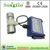 Singflo K24 electric water flow meter/magnetic digital flow meter price in China