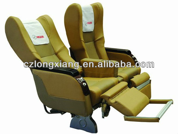 sleep bus seat with leg rest