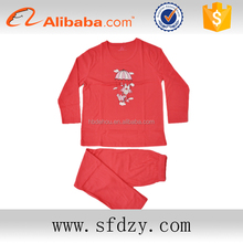 Kids designer animal pajamas cheap home wear christmas pajamas sets