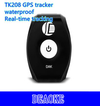 worlds smallest pet gps tracker TK208 with Tracking Online Software Free