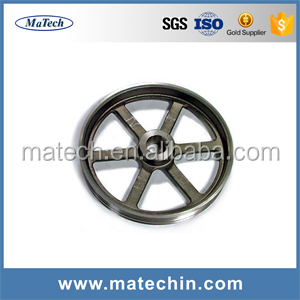 OEM Custom Manufacturing Sand Casting Iron Flywheel