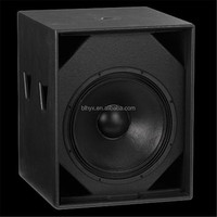 "High Power Single 18"" wooden Woofer Speaker / Live Sound Subwoofer"