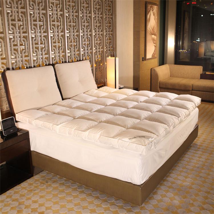 hypoallergenic cloth waterproof double bed mattress topper / pad - Jozy Mattress | Jozy.net