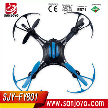 New FY801 RC drone Upside Down Flight Universal Remote Control 2.4GHz 4ch 6Axis RC Airplane RC Drone Made in china