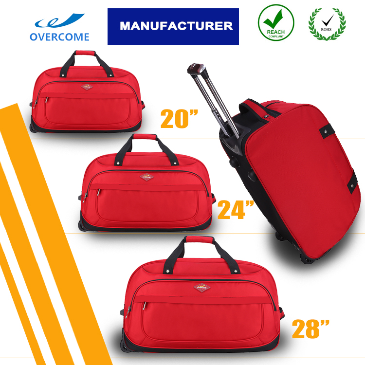 Custom trolley travel bags with wheels 3pcs travel luggage sets