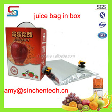 Aseptic bag in box apple juice bag in box