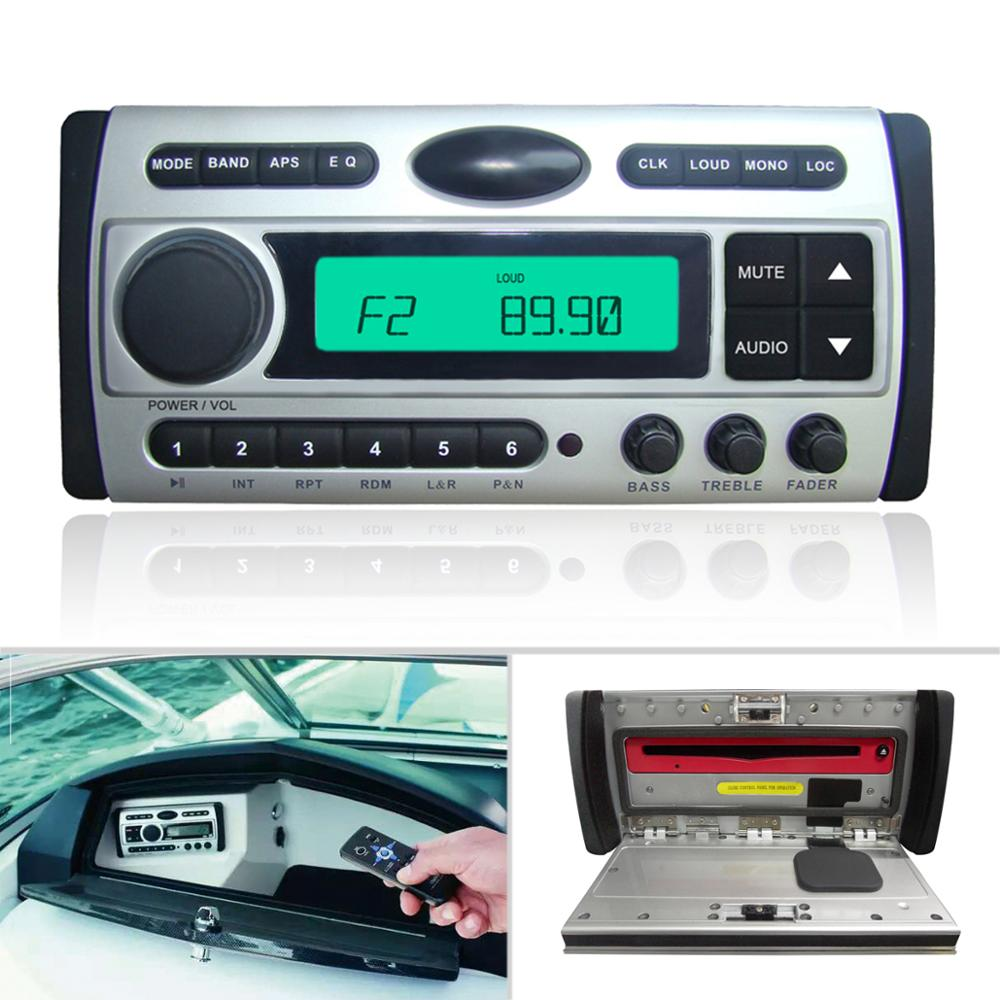 Marine Boat Stereo Combo Quality Flush DVD/MP3/CD/USB/Radio player