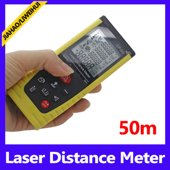 Area Volume consecutive measurement function 50m laser distance meter measure