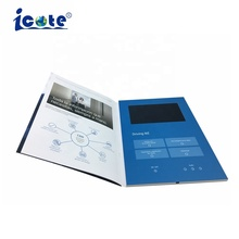 "2018 NEW 2.4"" to 10"" LCD Video Brochure, Custom lcd video card , Video greeting card module"