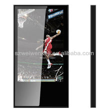 22 inch ultra thin LCD/LED bus ad player