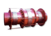 Duplex hinged bellows expansion joint