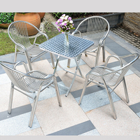 Juice Bar Wholesale Garden Furniture Set Outdoor Furniture For Coffee Shop