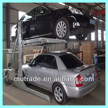 mini tilting car parking lift hydraulic smart car parking lift