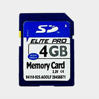 SDHC CARD FOR CAR DVD PLAYER