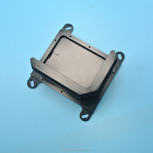 OEM/ODM service cnc machining aluminum cnc parts with black anodized surface finish