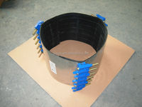 Pipe line Ductile iron LUG Repair clamp for leakage water pipes made in China with good quality