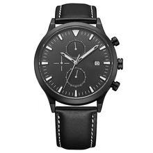 New Fashion Charm Men Quartz Movement With Date Stainless Steel Watch