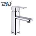 China zinc single handle bathroom brass basin faucet