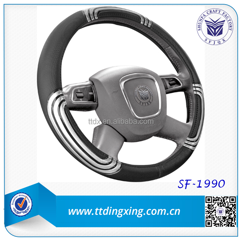 Popular new car sport style Car Steering Wheel Cover For North America