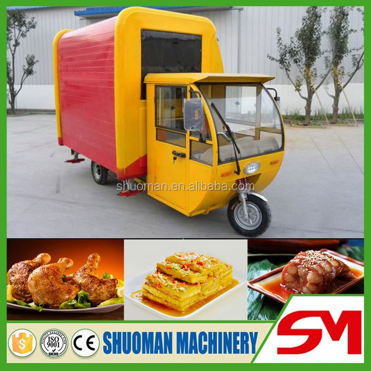 Best selling no deformation used food trucks for sale