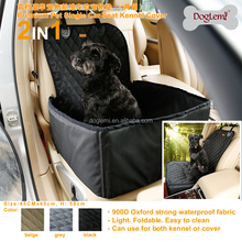 Hot selling Dog Car Front Seat Crate Cover Pet Seat Cover Waterproof