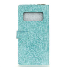 Phone Case for Samsung Galaxy Note 8,Crocodile Outline PU Leather Cover with Card Pocket inside Wallet Shell Holder Stand