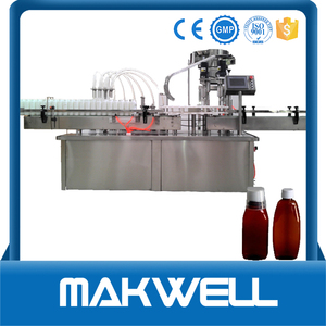 bleaching solution bottle filling machine made in China