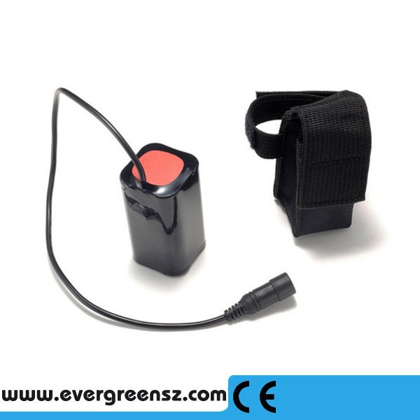 Replacement 8.4v Rechargeable 18650 Battery Pack for LED T6 Cree Headlamp Bicycle Light