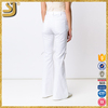 SHANGYI low rise leather pants men, lace flare pants, new style ladies pants