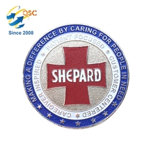 Personalized Custom Metal Souvenir Double Challenge Coin
