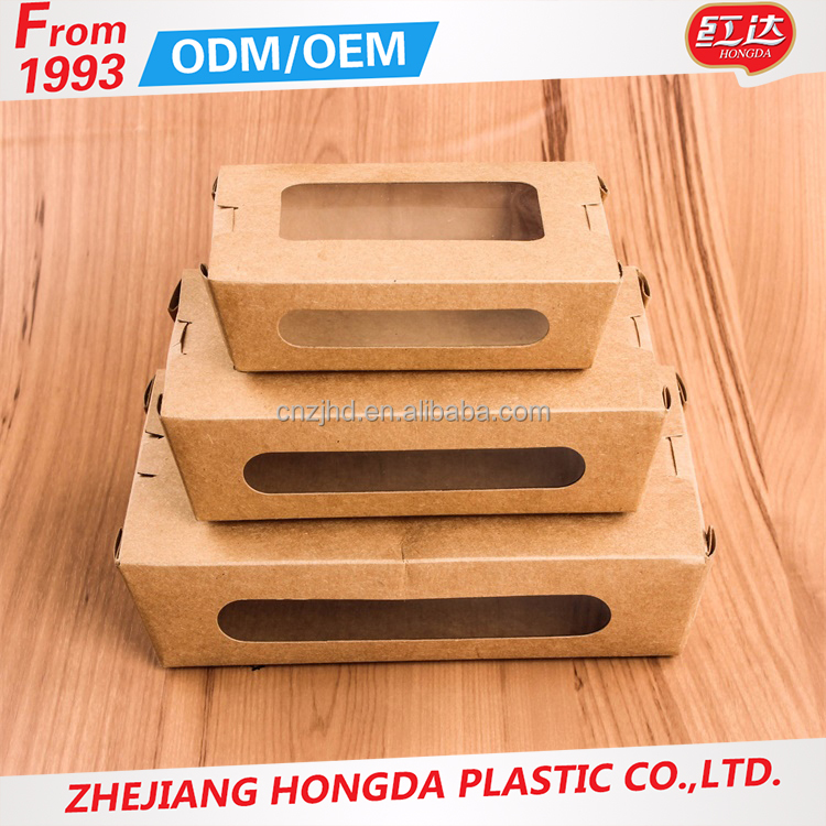 Home & garden Paper Design Container Oven Available Kraft Pizza Box
