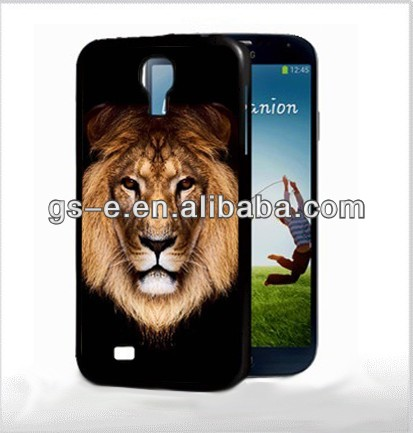 New arrival magic multiform lion case for samsung S4/ 3D case for samsung S4 /3D cellphone case