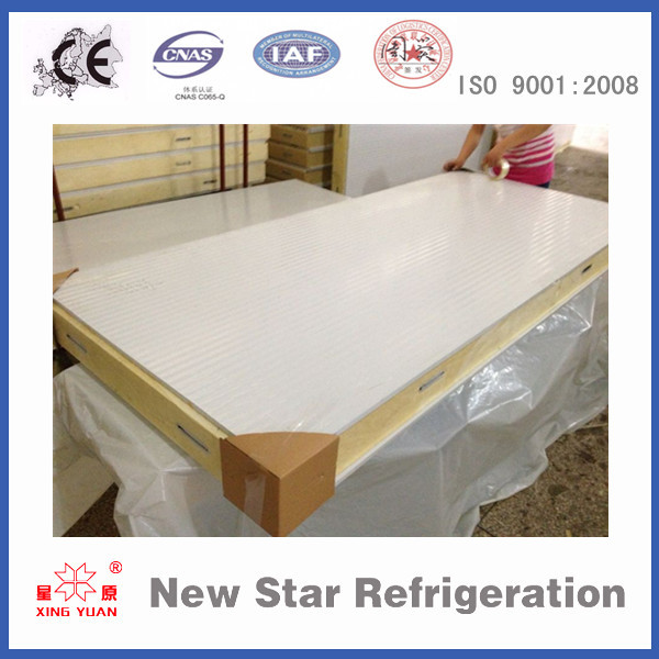 Polyurethane/PU sandwich insulation foam board/panel for cold room