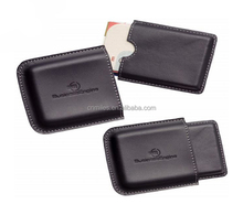 Genuine leather credit card wallet ,credit card case
