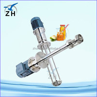 food grade high shear rotor stator mixer animal feed making machine