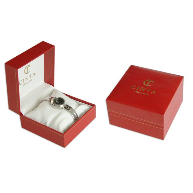 Wholesale Luxury PU Leather Jewelry Storage Men gift Boxes Custom Logo Bracelet Bangle packaging Pillow Watch Box