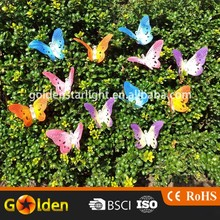 Solar Powered 2m 12 led Butterfly String Thanksgiving Light Decorations