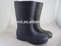 Lightweight Rain Boots with Rubber Foam Material Print Rubber Rain Boots