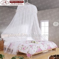 Best selling decorative romantic hanging dome bedroom mosquito nets for bed