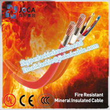 effective isolation of steam, gas and flame mineral insulated fire-retardant cable
