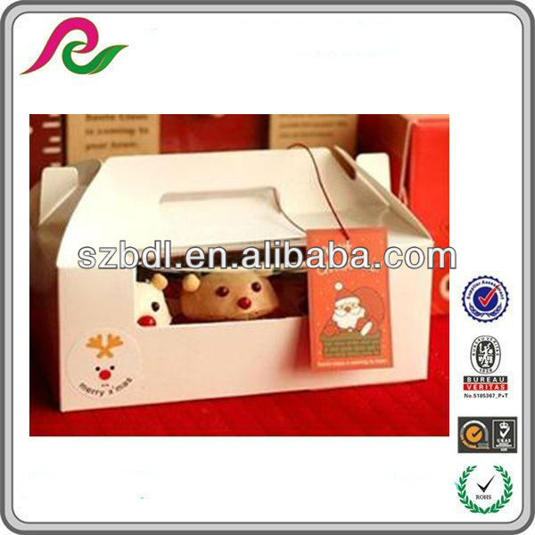 Wedding decorative cake packing boxes in Guangdong China
