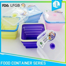 Silicone cheap kitchen airtight microwavable steaming containers