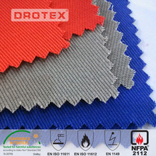 low price lightweight cotton 21/2*10 fireproof tent canvas fabric for fire retarding work clothing