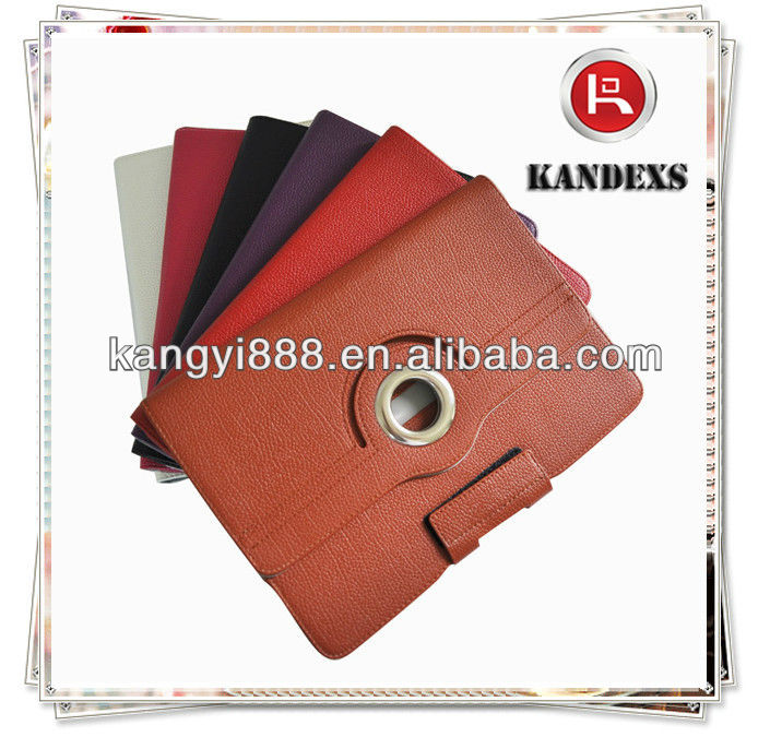 High Grade Colorful PU Cover For Ipad
