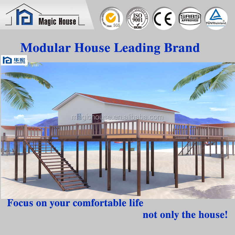 Prefab Construction High quality decorated movable container house