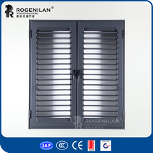 ROGENILAN 45 series china supplier residential aluminum louver window