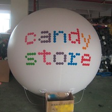 Logo Printed Advertising Inflated Balloon / Helium Spheres