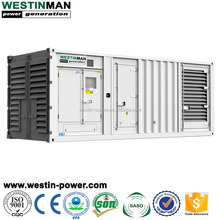 Big power generator 1000kva 800kw silent container generator diesel genset for construction