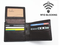 BOSHIHO New Products RFID Leather Wallet
