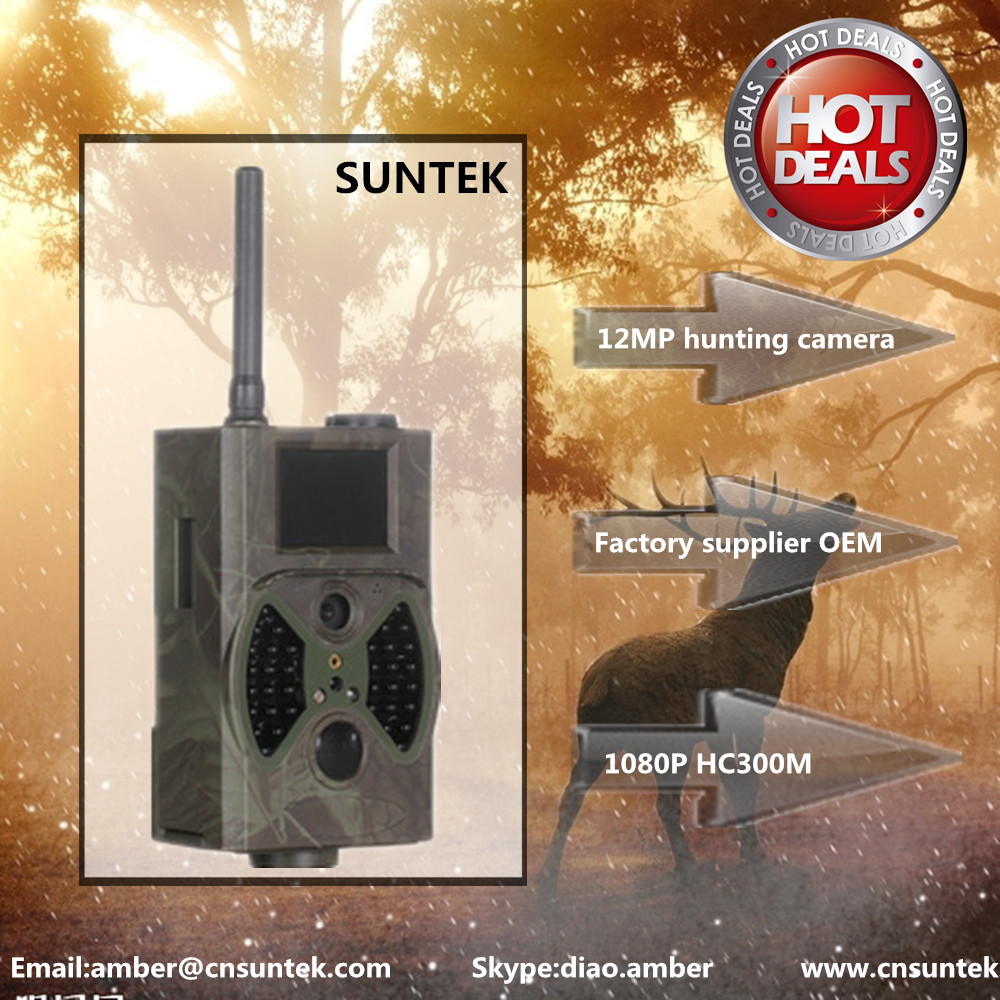 Night Vision hunting gun camera ,scout guard infrared digital hunting camera MMS
